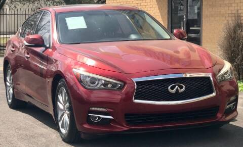 2015 Infiniti Q50 for sale at Auto Imports in Houston TX