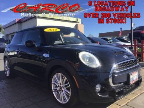 2015 MINI Hardtop 2 Door for sale at CARCO SALES & FINANCE in Chula Vista CA