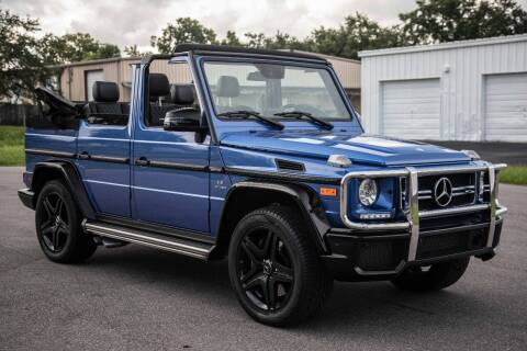 2017 Mercedes-Benz G-Class for sale at Exquisite Auto in Sarasota FL