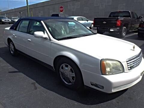 2005 Cadillac DeVille for sale at DONNY MILLS AUTO SALES in Largo FL