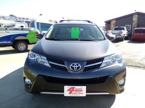 2015 Toyota RAV4 for sale at Four Guys Auto in Cedar Rapids IA
