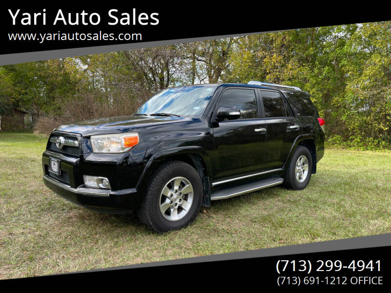 2012 Toyota 4Runner for sale at Yari Auto Sales in Houston TX