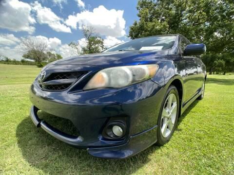 2012 Toyota Corolla for sale at Carz Of Texas Auto Sales in San Antonio TX