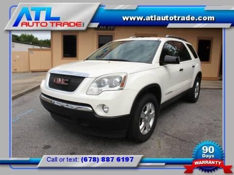 2008 GMC Acadia for sale at ATL Auto Trade, Inc. in Stone Mountain GA
