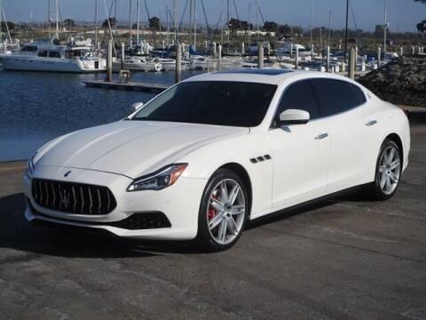 2018 Maserati Quattroporte for sale at Convoy Motors LLC in National City CA