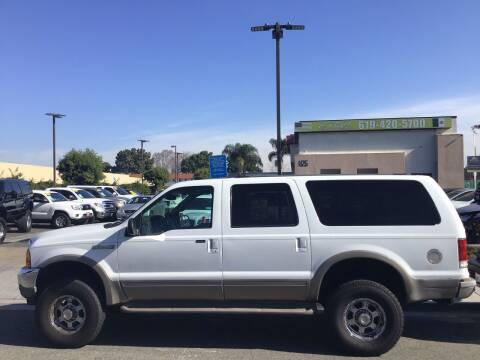 2000 Ford Excursion for sale at CARCO SALES & FINANCE in Chula Vista CA