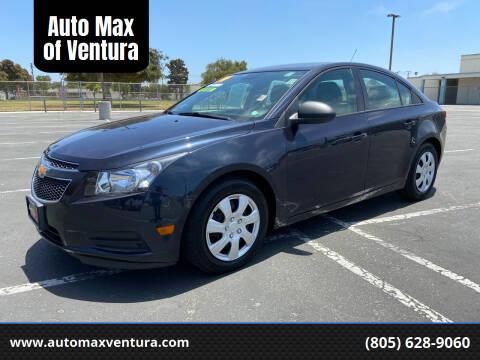 2014 Chevrolet Cruze for sale at Auto Max of Ventura in Ventura CA