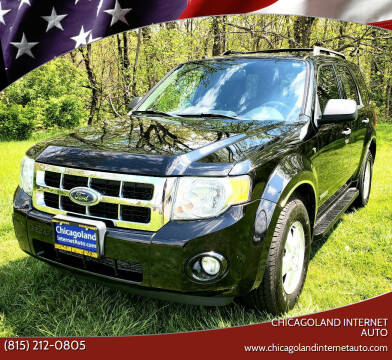 2008 Ford Escape for sale at Chicagoland Internet Auto - 410 N Vine St New Lenox IL, 60451 in New Lenox IL