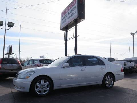 2005 Lexus LS 430 for sale at United Auto Sales in Oklahoma City OK