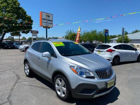 2016 Buick Encore for sale at TDI AUTO SALES in Boise ID