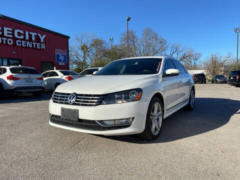 2014 Volkswagen Passat for sale at Space City Auto Center in Houston TX