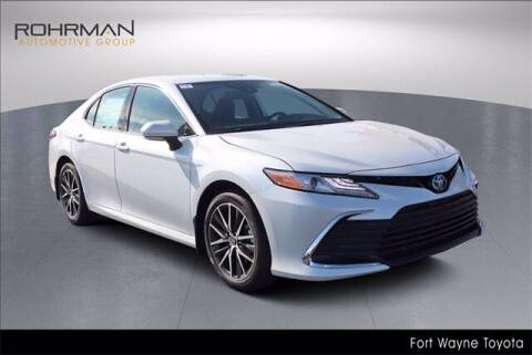 2022 Toyota Camry Hybrid for sale at BOB ROHRMAN FORT WAYNE TOYOTA in Fort Wayne IN