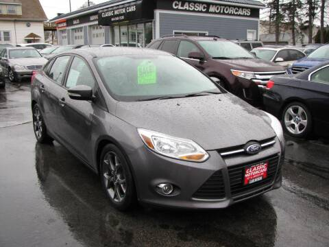 2014 Ford Focus for sale at CLASSIC MOTOR CARS in West Allis WI