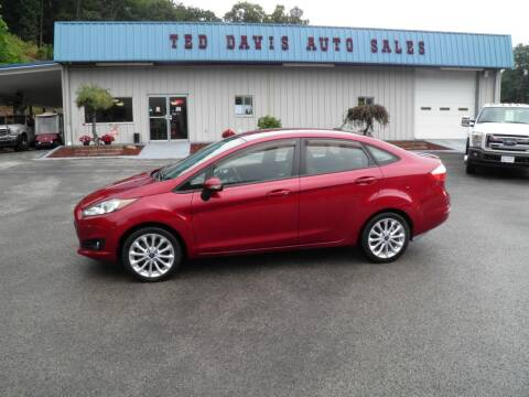 2014 Ford Fiesta for sale at Ted Davis Auto Sales in Riverton WV