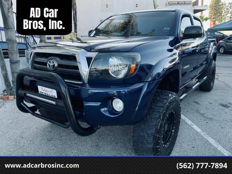 2008 Toyota Tacoma for sale at AD Car Bros, Inc. in Whittier CA