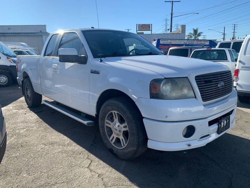 2007 Ford F-150 for sale at Best Buy Quality Cars in Bellflower CA