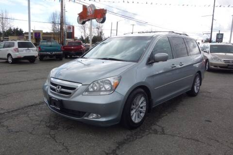 2007 Honda Odyssey for sale at Leavitt Auto Sales and Used Car City in Everett WA
