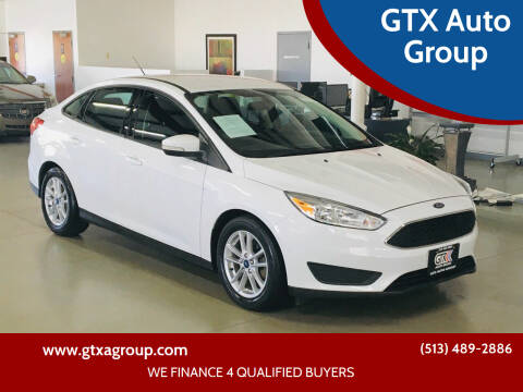 2016 Ford Focus for sale at GTX Auto Group in West Chester OH
