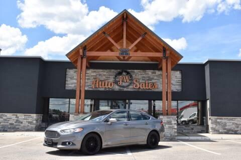 2013 Ford Fusion for sale at JW Auto Sales LLC in Harrisonburg VA