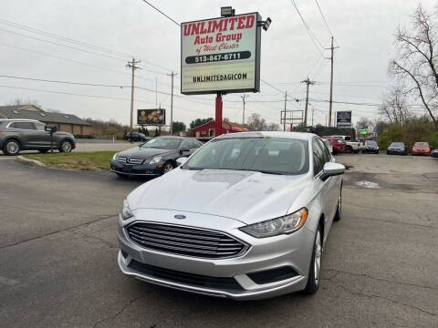 2018 Ford Fusion Hybrid for sale at Unlimited Auto Group in West Chester OH