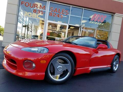 1994 Dodge Viper for sale at FOUR M SALES in Buffalo NY