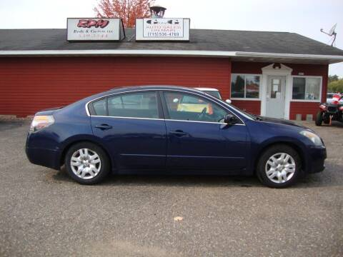 2009 Nissan Altima for sale at G and G AUTO SALES in Merrill WI