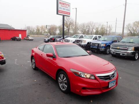 2012 Honda Accord for sale at Marty's Auto Sales in Savage MN