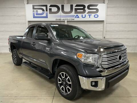 2017 Toyota Tundra for sale at DUBS AUTO LLC in Clearfield UT