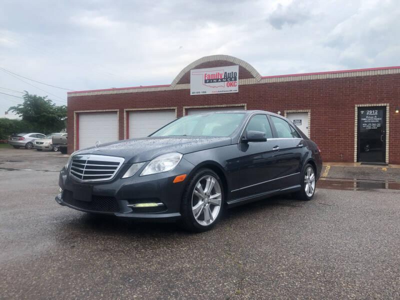 2013 Mercedes-Benz E-Class for sale at Family Auto Finance OKC LLC in Oklahoma City OK