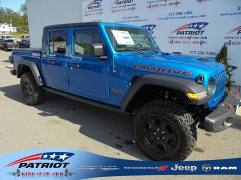 2020 Jeep Gladiator for sale at PATRIOT CHRYSLER DODGE JEEP RAM in Oakland MD