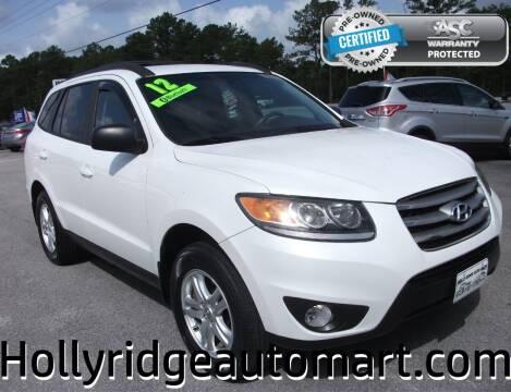 2012 Hyundai Santa Fe for sale at Holly Ridge Auto Mart in Holly Ridge NC