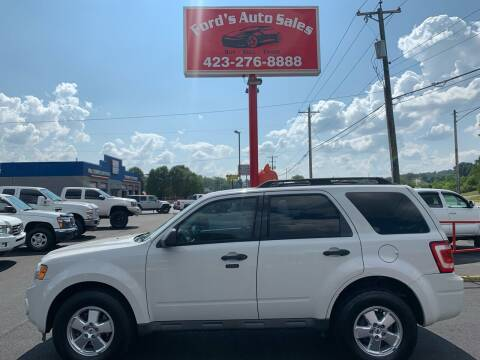 2012 Ford Escape for sale at Ford's Auto Sales in Kingsport TN