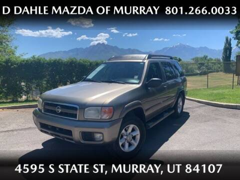 2003 Nissan Pathfinder for sale at D DAHLE MAZDA OF MURRAY in Salt Lake City UT