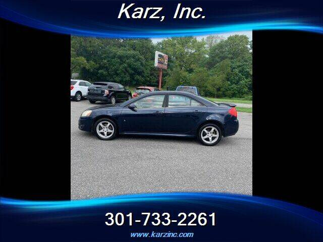 2009 Pontiac G6 for sale at Karz INC in Funkstown MD