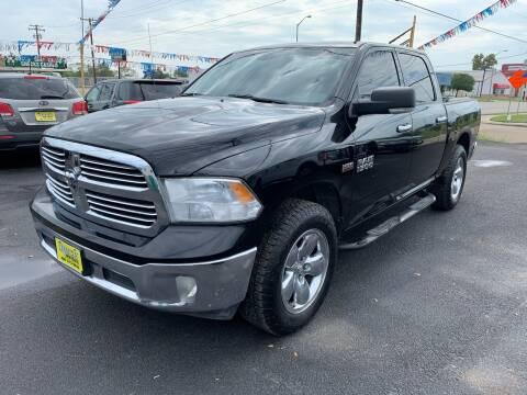 2013 RAM Ram Pickup 1500 for sale at Rock Motors LLC in Victoria TX