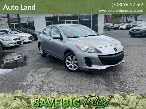 2013 Mazda MAZDA3 for sale at Auto Land in Manassas VA