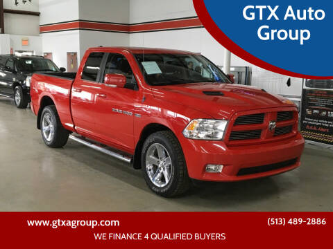 2011 RAM Ram Pickup 1500 for sale at GTX Auto Group in West Chester OH