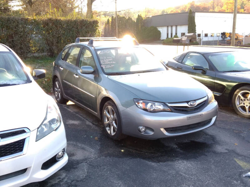 2010 Subaru Impreza for sale at SOUTH VALLEY AUTO in Torrington CT