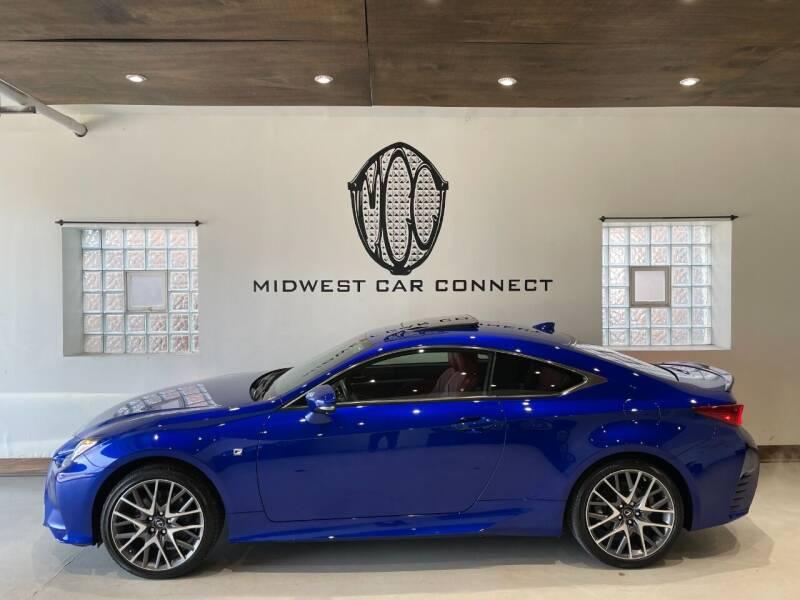 2017 Lexus RC 300 for sale at Midwest Car Connect in Villa Park IL
