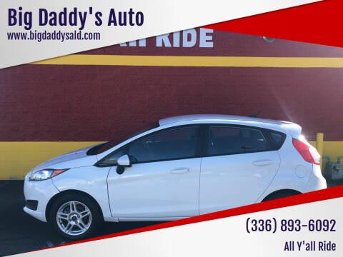 2017 Ford Fiesta for sale at Big Daddy's Auto in Winston-Salem NC