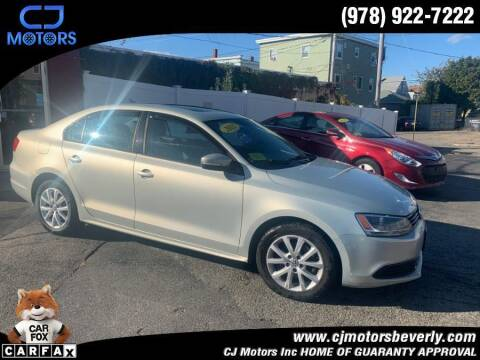 2011 Volkswagen Jetta for sale at CJ Motors Inc. in Beverly MA