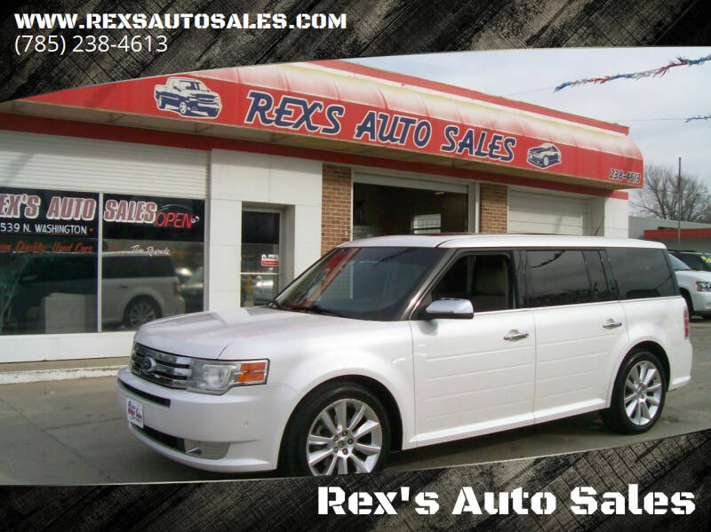 2011 Ford Flex for sale at Rex's Auto Sales in Junction City KS