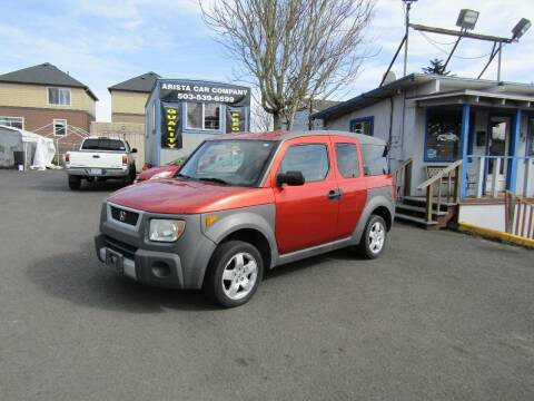 2004 Honda Element for sale at ARISTA CAR COMPANY LLC in Portland OR