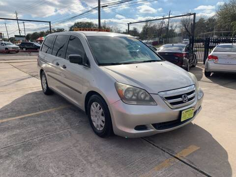 2007 Honda Odyssey for sale at JORGE'S MECHANIC SHOP & AUTO SALES in Houston TX
