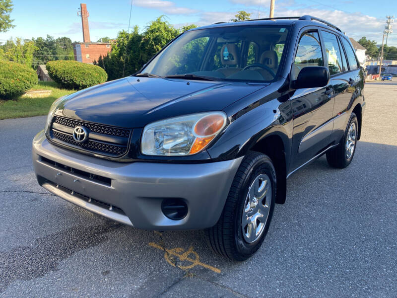 2005 Toyota RAV4 for sale at D'Ambroise Auto Sales in Lowell MA