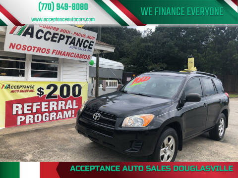 2012 Toyota RAV4 for sale at Acceptance Auto Sales Douglasville in Douglasville GA