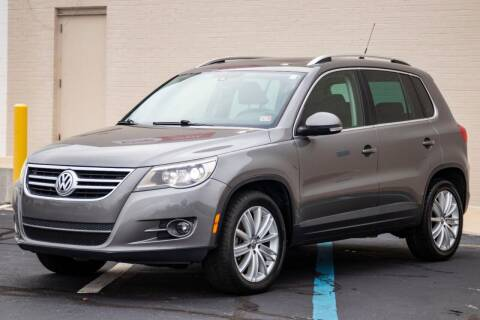 2011 Volkswagen Tiguan for sale at Carland Auto Sales INC. in Portsmouth VA