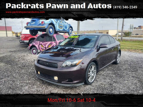 2008 Scion tC for sale at Packrats Pawn and Autos in Defiance OH