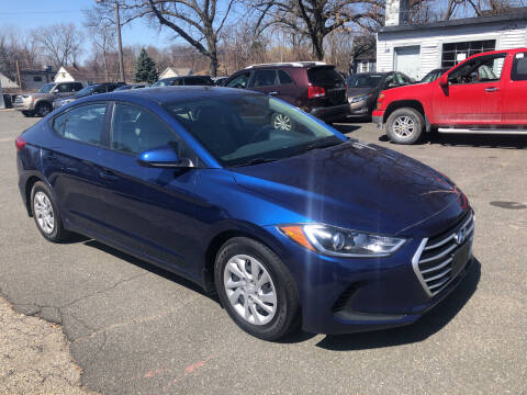 2018 Hyundai Elantra for sale at Chris Auto Sales in Springfield MA