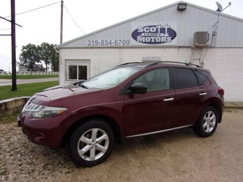2009 Nissan Murano for sale at SCOTT FAMILY MOTORS in Springville IA